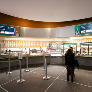 5 of 20: End Zone Food Court - New All Star Sports End Zone Food Court - Food stations