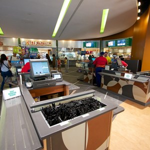 7 of 20: End Zone Food Court - New All Star Sports End Zone Food Court - Registers
