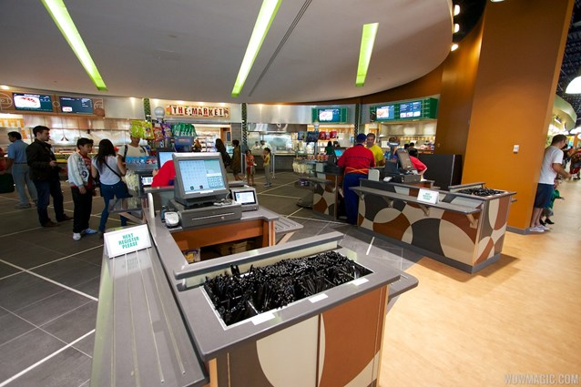 End Zone Food Court - New All Star Sports End Zone Food Court - Registers