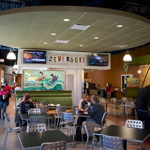 15 of 20: End Zone Food Court - New All Star Sports End Zone Food Court - Dining room