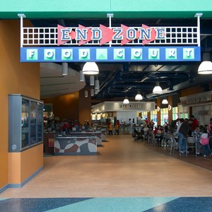 1 of 20: End Zone Food Court - New All Star Sports End Zone Food Court - Entrance
