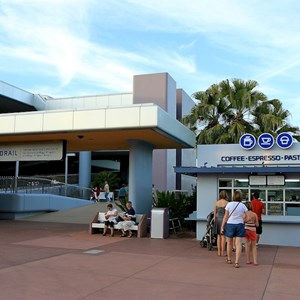 2 of 2: Epcot Monorail Station Coffee and Pastries - Epcot Monorail Station Coffee and Pastries now open