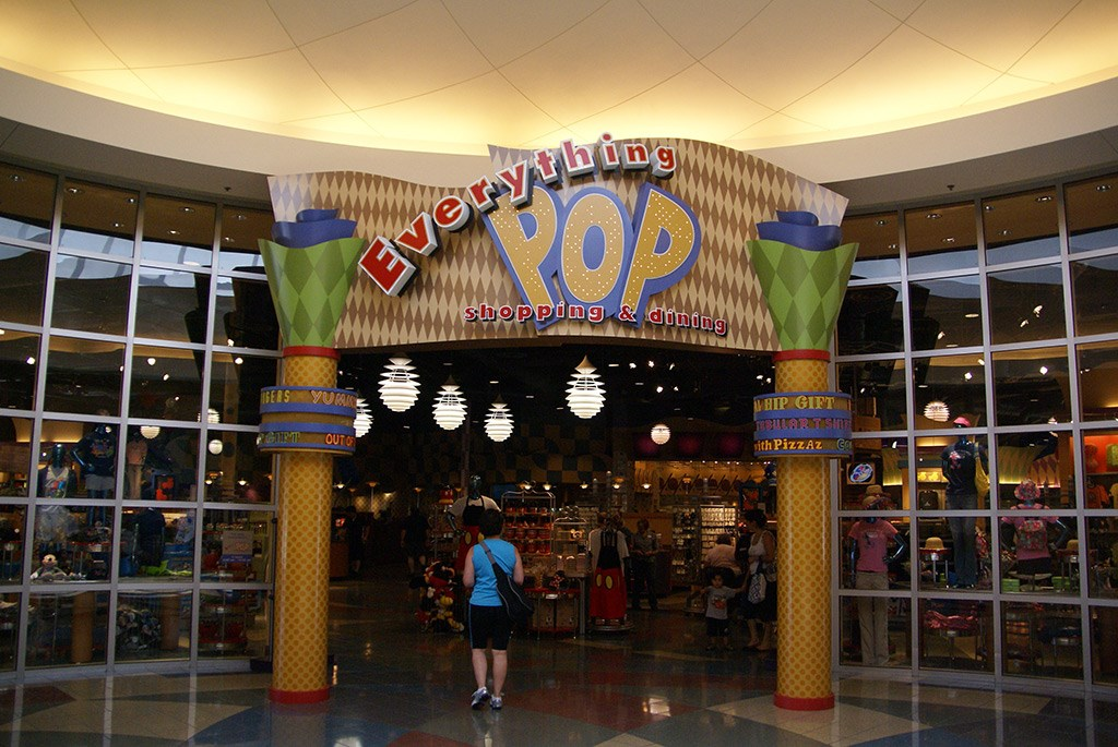 Everything Pop Shopping and Dining Food Court