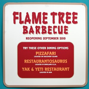 1 of 2: Flame Tree Barbecue - Refurbishment