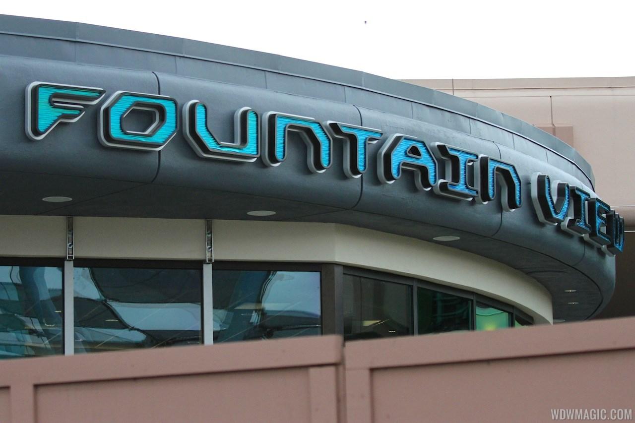 Fountain View Starbucks construction