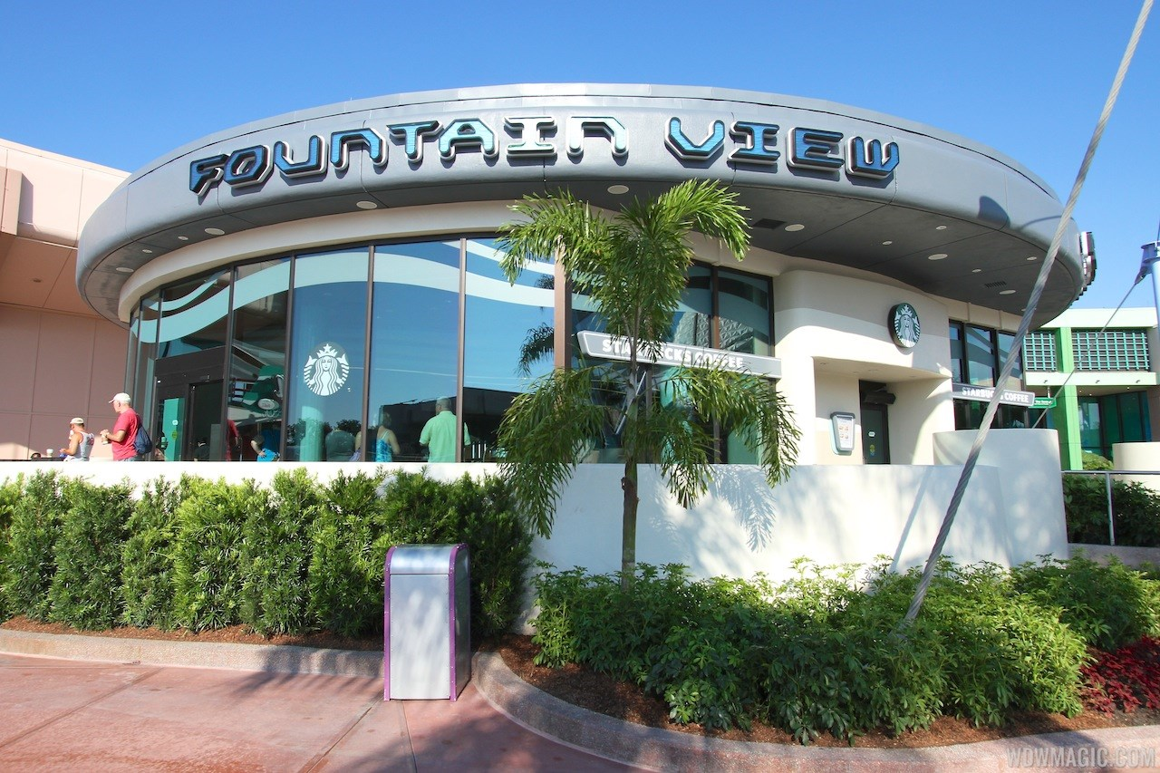 Fountain View Starbucks exterior