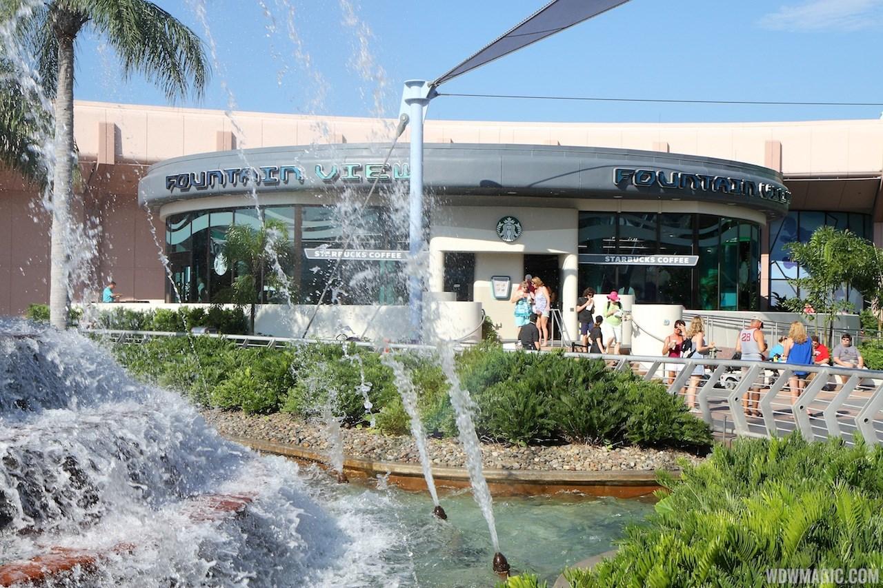 Fountain View Starbucks exterior