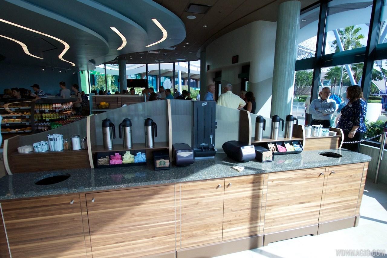 Fountain View Starbucks interior