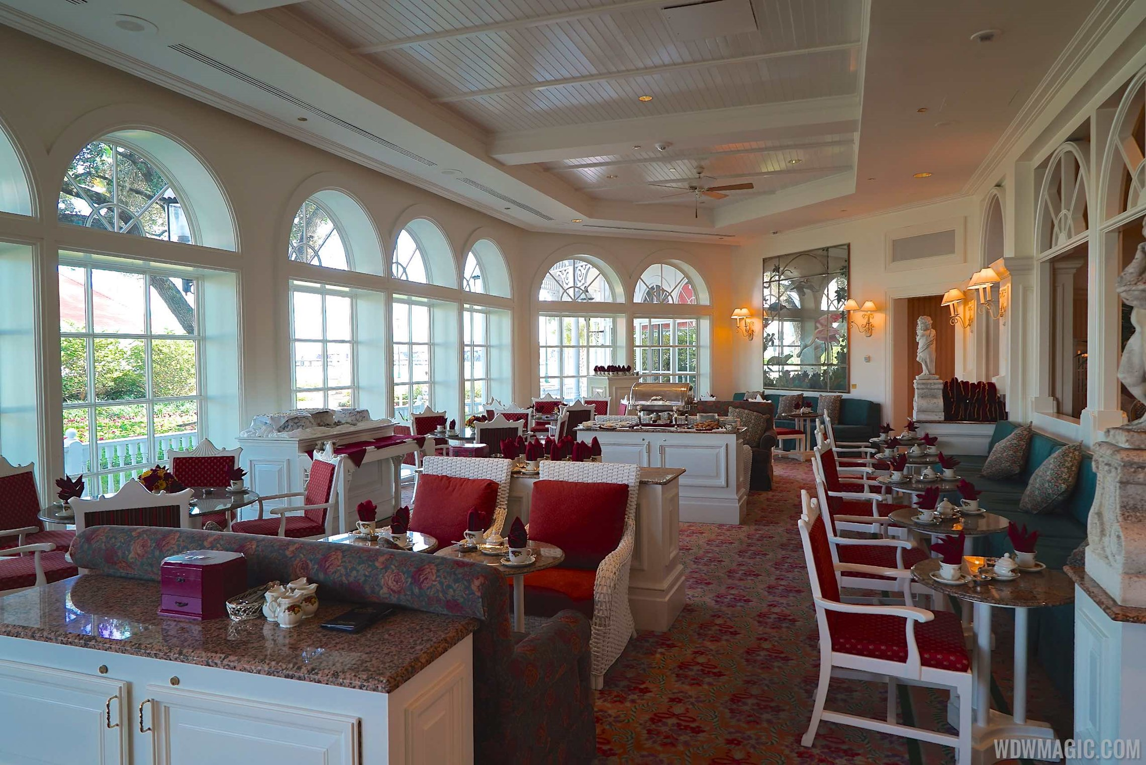 Garden View Tea Lounge overview