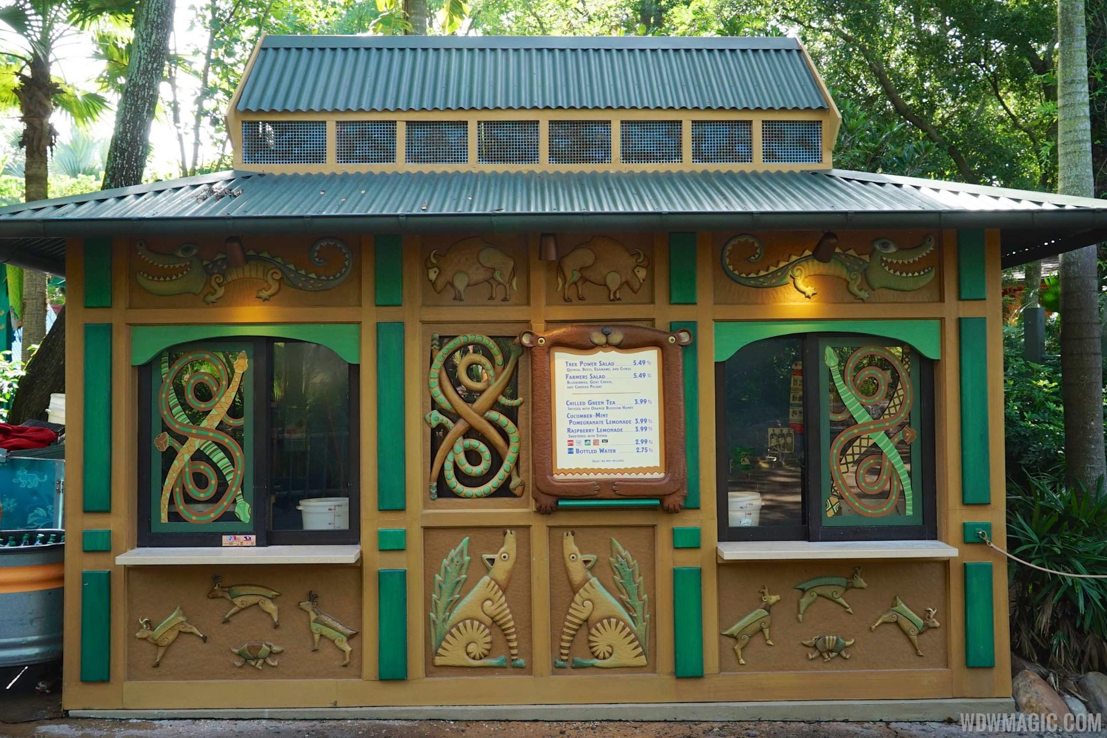 New-look Gardens Kiosk