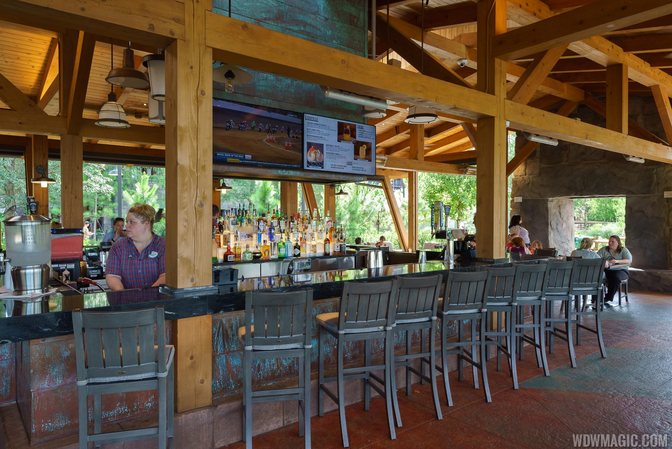 Geyser Point Bar and Grill dinner