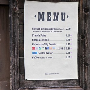 1 of 1: Golden Oak Outpost - Stripped down menu