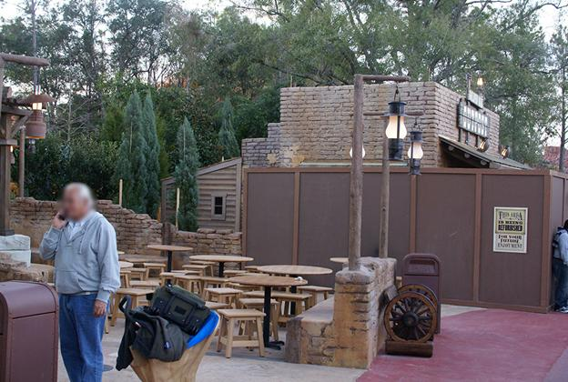 Golden Oak Outpost construction