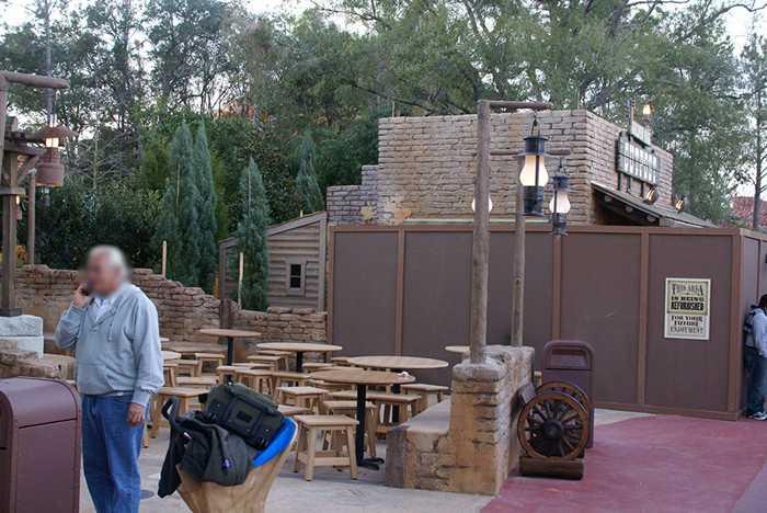 Golden Oak Outpost construction