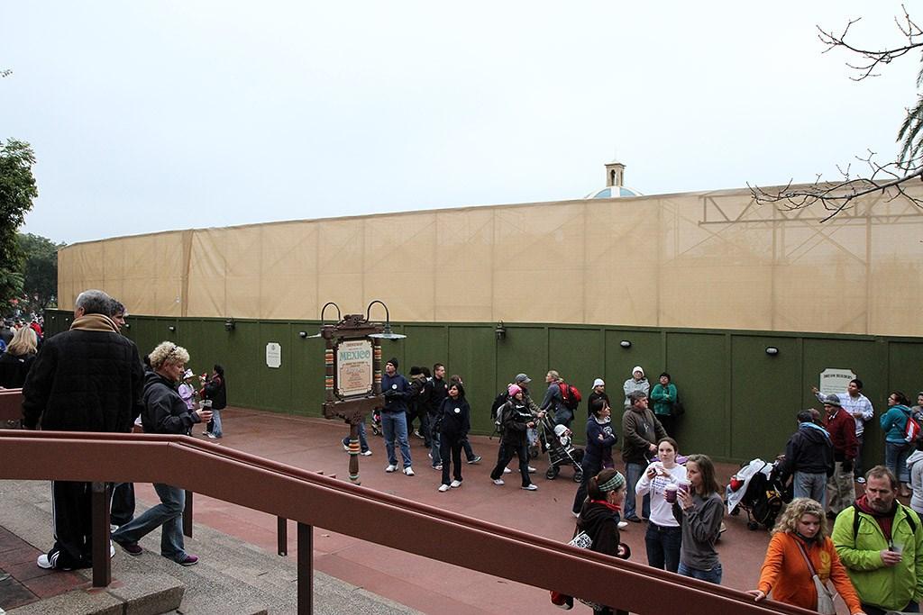 Cantina de San Angel demolition