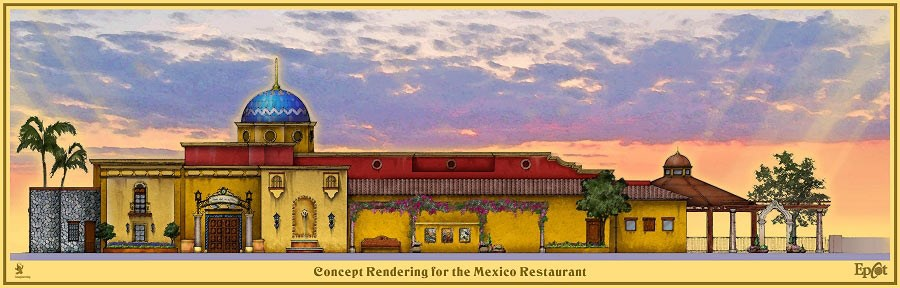 Hacienda de San Angel concept art