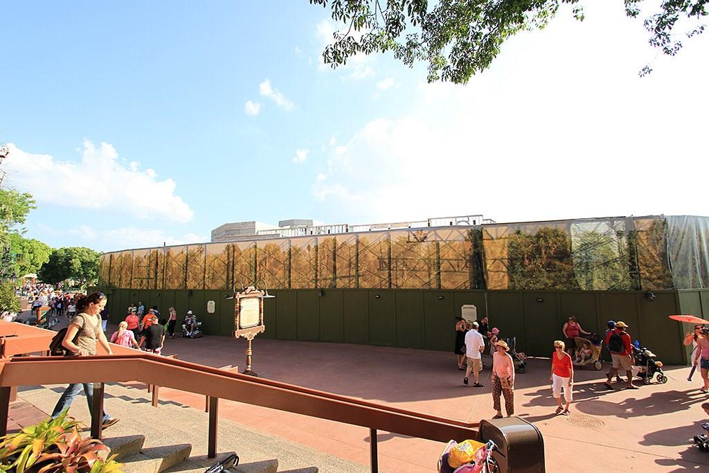 Hacienda de San Angel construction