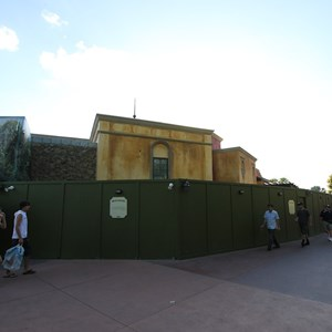 4 of 7: La Hacienda de San Angel - Construction walls down