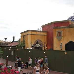 2 of 6: La Hacienda de San Angel - Signage and exterior detail construction