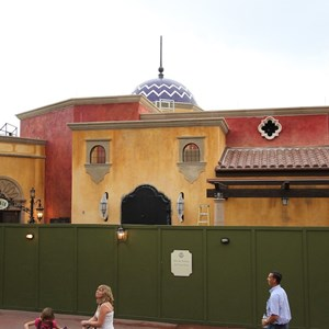 3 of 6: La Hacienda de San Angel - Signage and exterior detail construction