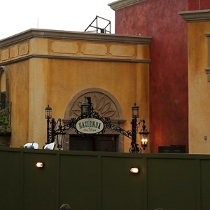 4 of 6: La Hacienda de San Angel - Signage and exterior detail construction