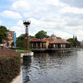 La Hacienda de San Angel - The view across the lagoon