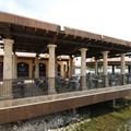 La Hacienda de San Angel - The outdoor dining area for the Cantina counter service