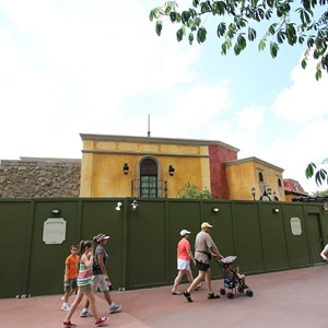 13 of 20: La Hacienda de San Angel - Construction and exterior dining areas