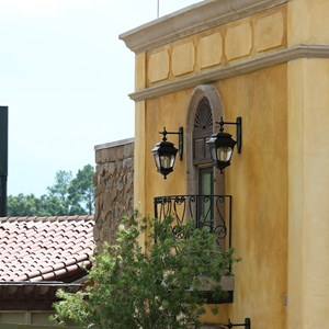 18 of 20: La Hacienda de San Angel - Construction and exterior dining areas