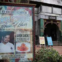 New menu billboard
