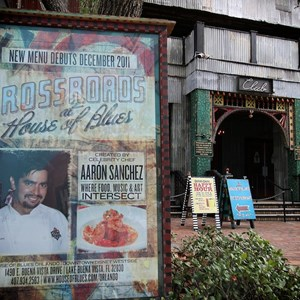 1 of 1: House of Blues - New menu billboard
