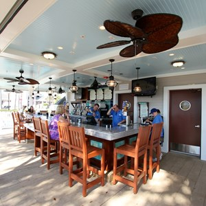 5 of 7: Hurricane Hanna's Waterside Bar and Grill - Newly refurbished Hurricane Hanna's Waterside Bar and Grill