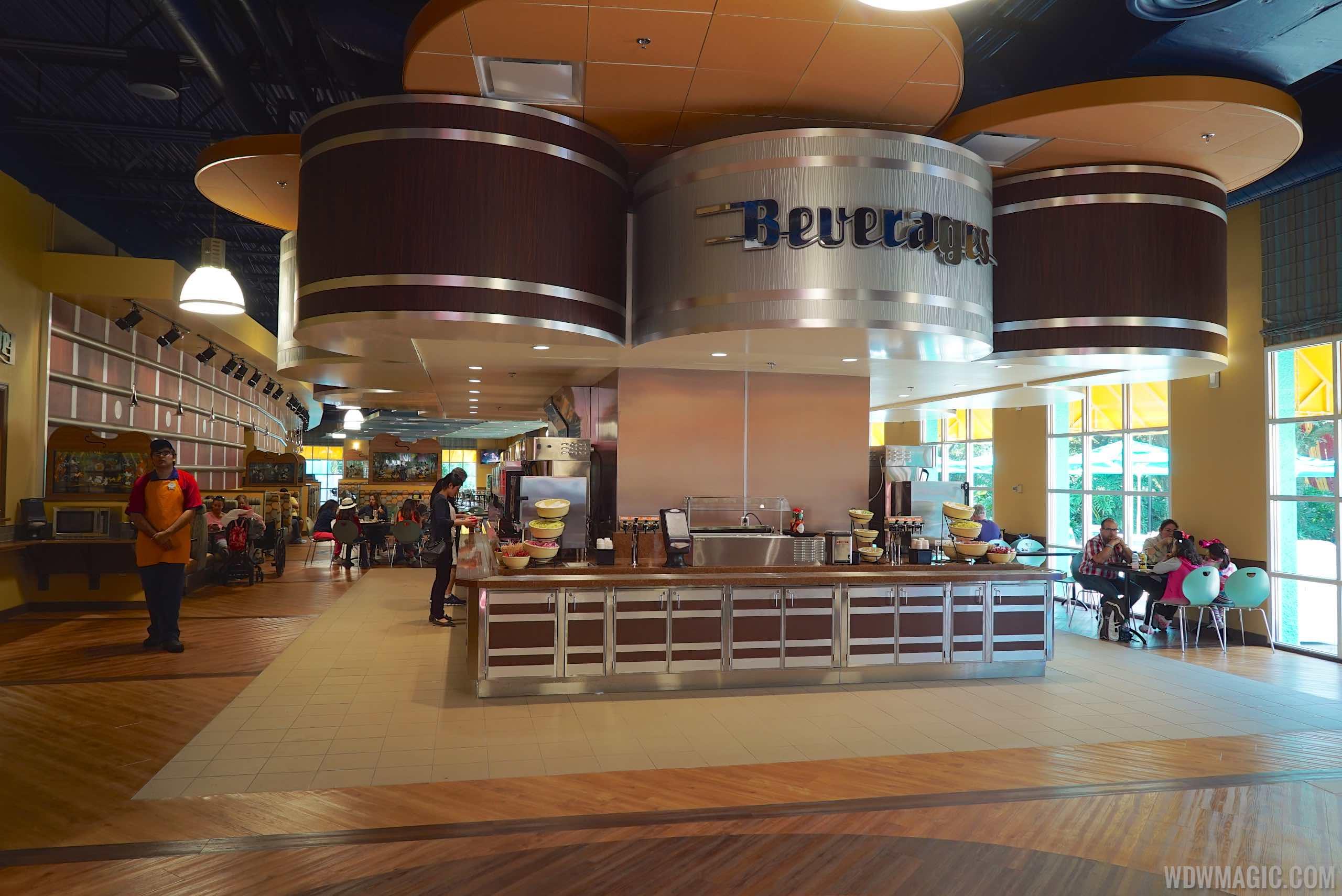 Photos Intermission Food Court At Disney S All Star