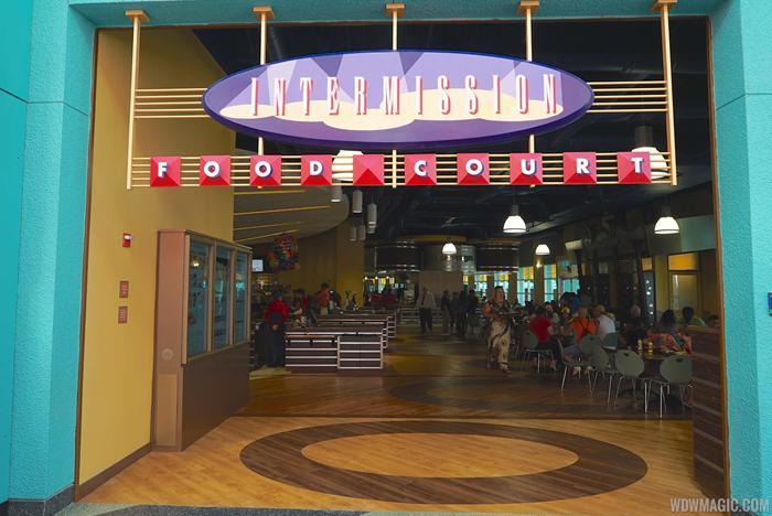 Intermission Food Court completed refurbishment