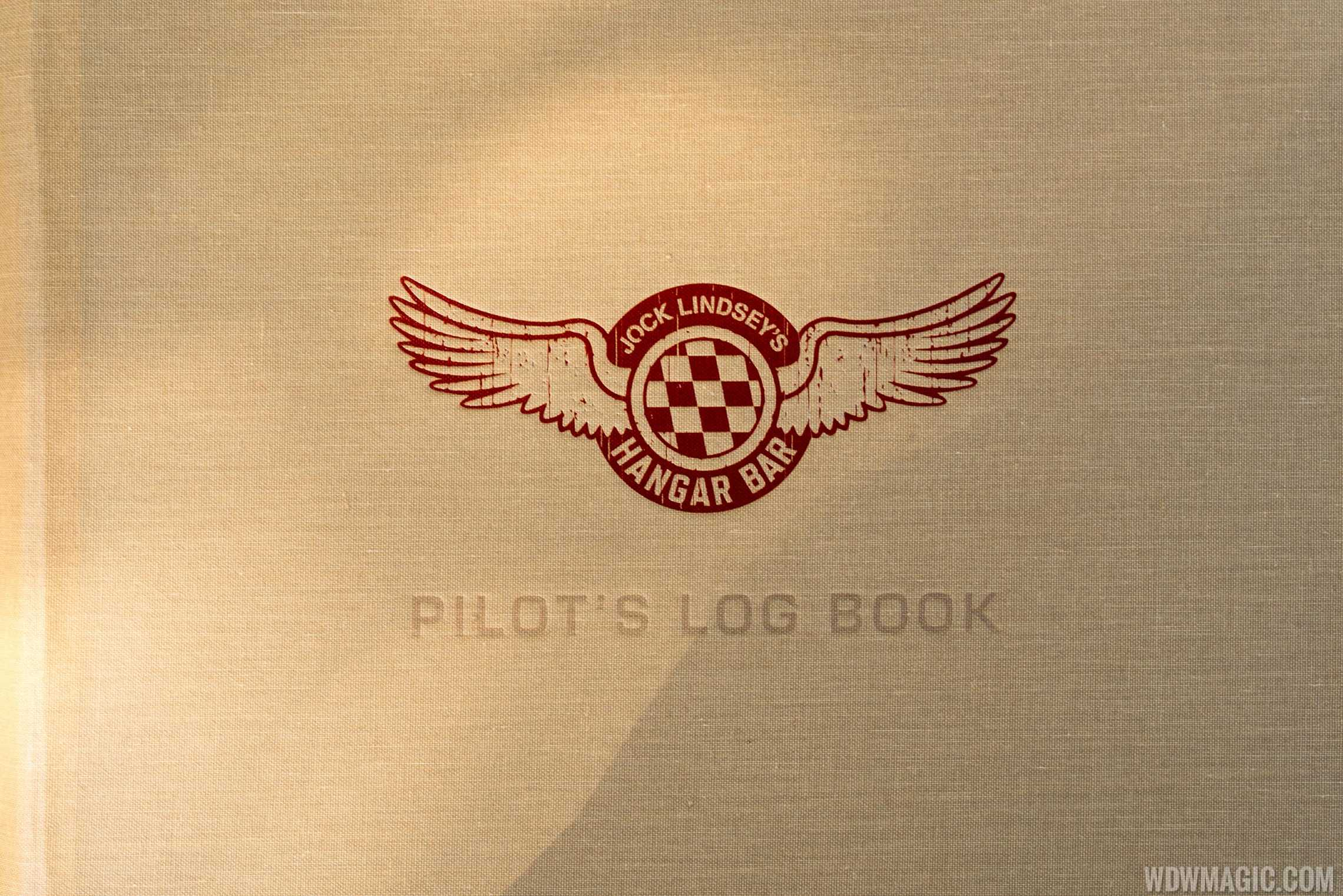 Jock Lindsey's Pilot's Log book - Full Menu