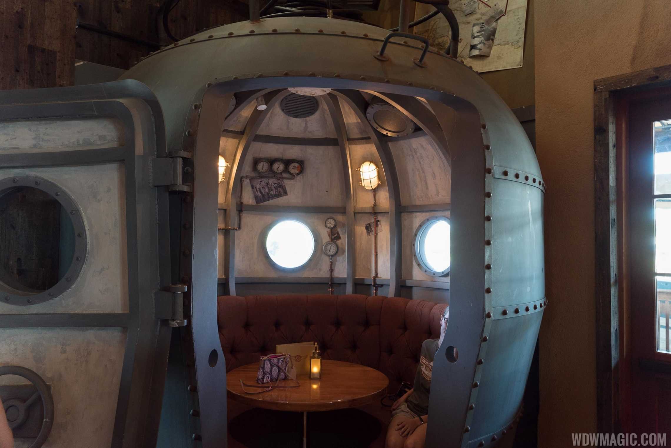 Jock Lindsey's Hangar Bar - Diving Bell seating area