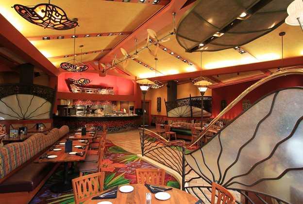 Kona Cafe dining room
