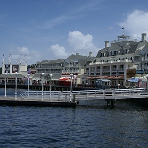 12 of 14: Kouzzina by Cat Cora - A look across the Boardwalk at the home of Kouzzina