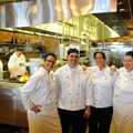 Kouzzina by Cat Cora - EXHIBITION KITCHEN: Kouzzina by Cat Cora at Disney's BoardWalk Resort features an exhibition kitchen in the spacious dining room. Copyright 2009 The Walt Disney Co.