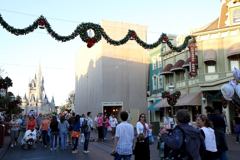 Main Street Bakery exterior refurbishment