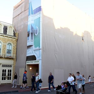 2 of 3: Main Street Bakery - Main Street Bakery exterior refurbishment