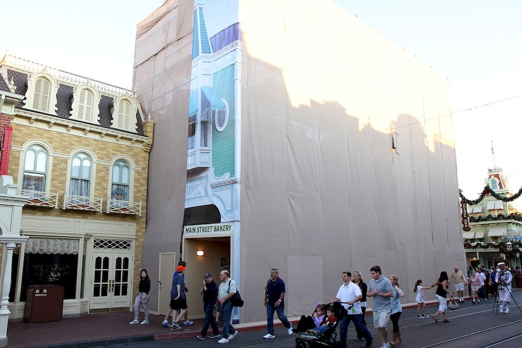 Main Street Bakery exterior refurbishment