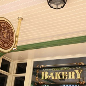 6 of 7: Main Street Bakery - Starbucks signage