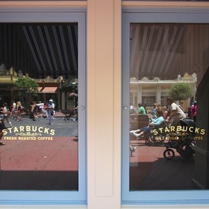 7 of 7: Main Street Bakery - Starbucks signage