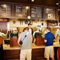 Main Street Bakery - Inside the Starbucks Main Street Bakery - Registers and ordering area