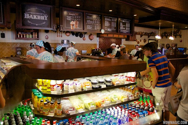 Main Street Bakery - Inside the Starbucks Main Street Bakery - Grab and go