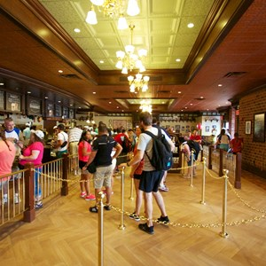 9 of 27: Main Street Bakery - Inside the Starbucks Main Street Bakery - Queue area