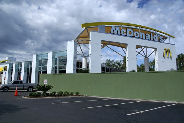 McDonald's All Star Resorts area