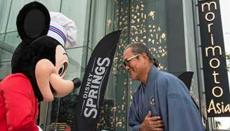 VIDEO - Iron Chef Morimoto joins Disney leaders to officially open Morimoto Asia at Disney Springs
