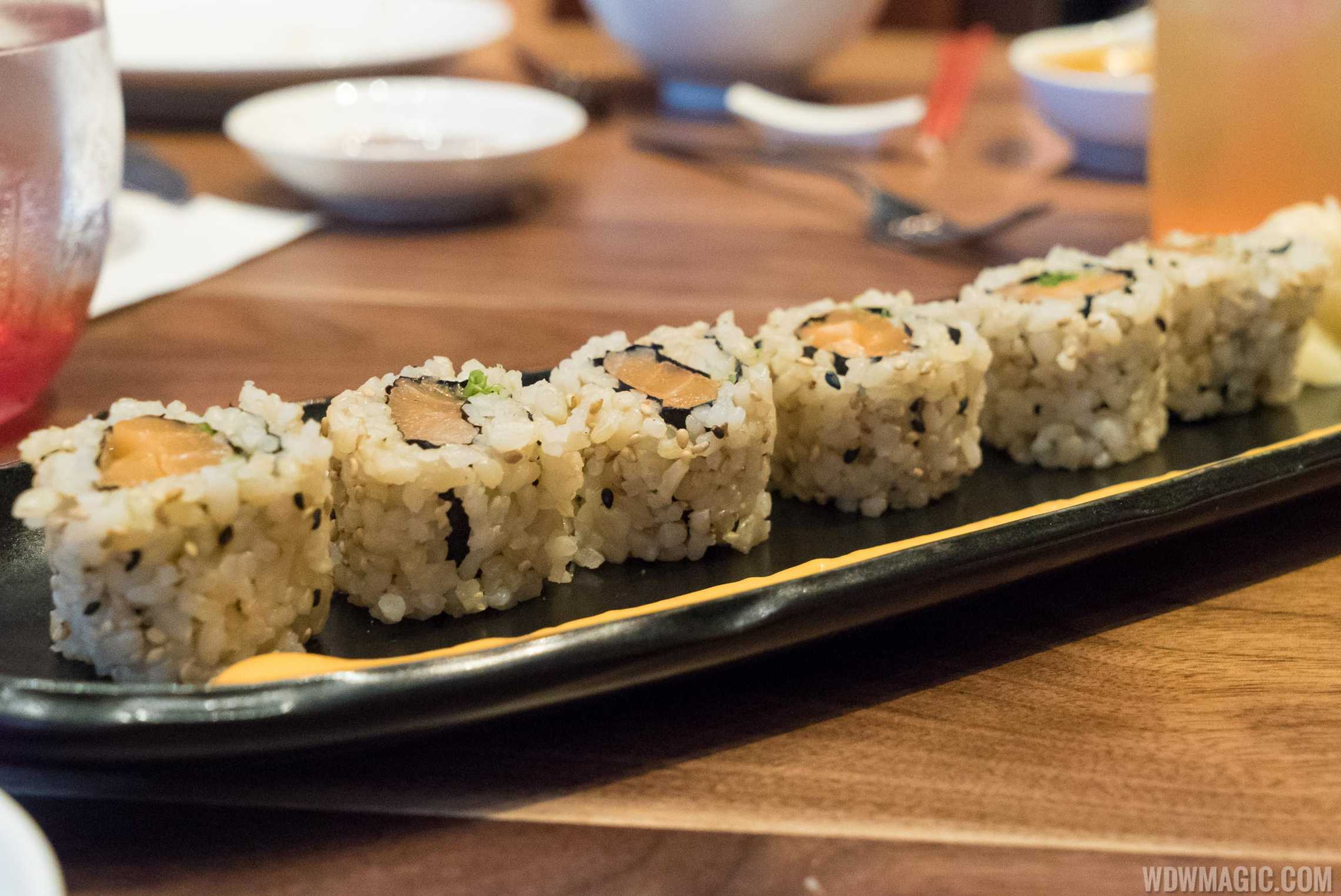 Morimoto Asia - spicy salmon sushi rolls